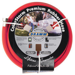 Dramm ColorStorm™ 50' Red Premium Rubber Hose