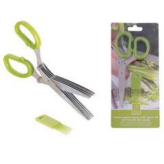 Esschert herb Scissors with Cleaning Comb