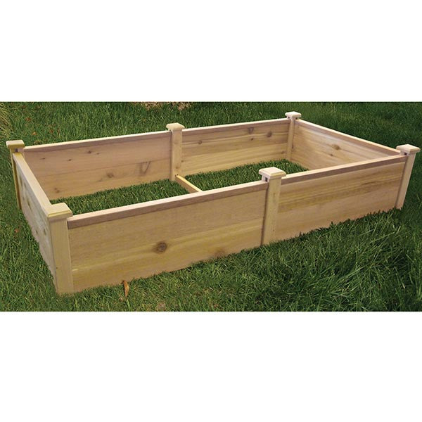 "72"" x 36"" Red Cedar Raised Bed"
