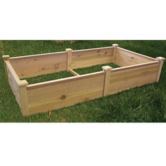 "Red Cedar Raised Bed 72"" x 36"""