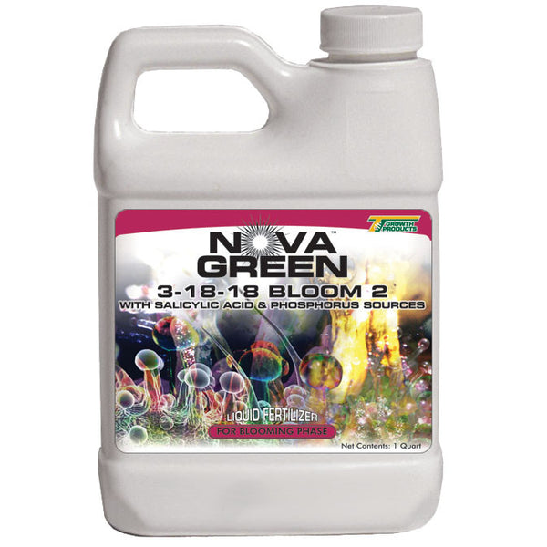 Nova Green 3-18-18 Bloom 2 Fertilizer