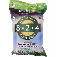 Suståne 8-2-4 All Natural Lawn & Landscape Plant Food & Organic Fertilizer