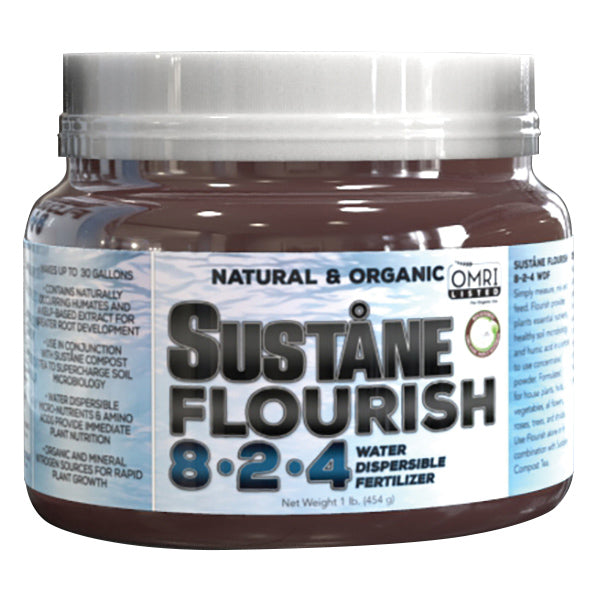 Suståne Flourish Organic 8-2-4 WDF Fertilizer