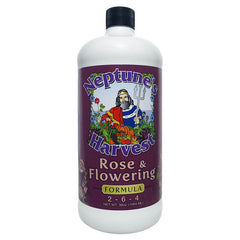 Neptune's Harvest Rose & Flowering 2-6-4 32 oz. (1 qt.) Organic Fertilizer