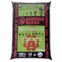Organic Mechanics Biochar Blend Soil Additive / Fertilizer