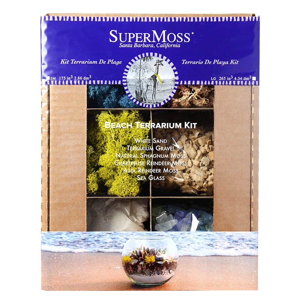 SuperMoss Terrarium Beach Kit