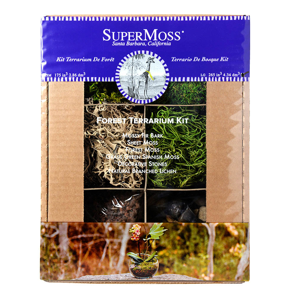 SuperMoss Terrarium Forest Kit