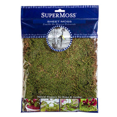 SuperMoss Natural Green Sheet Moss