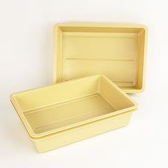 "Perma-Nest 12"" x 8"" Tan Trays"