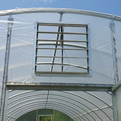 "High Tunnel/Greenhouse 18"" Vent w/Auto Opener"