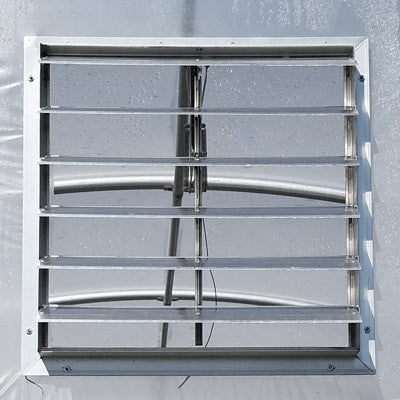 "High Tunnel/Greenhouse 24"" Vent w/Auto Opener"