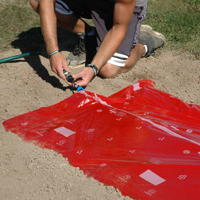 Flora Flow Mulch All-In-One Mat SRM Red 100'