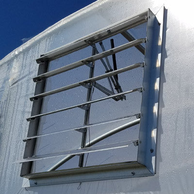 "High Tunnel 30"" Vent With Automatic Opener"