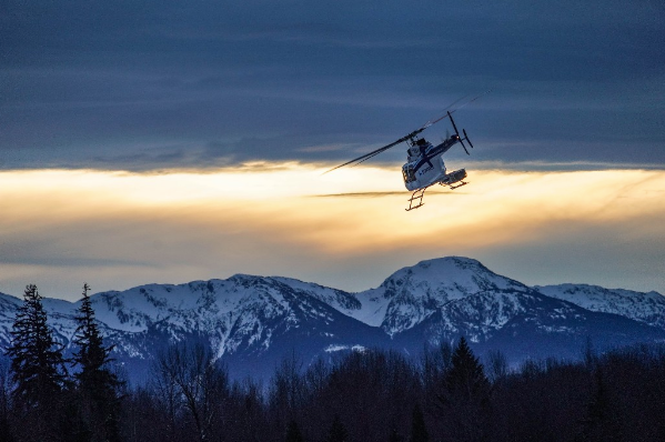 Parlor Takes the Helicopter in BC