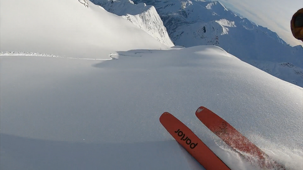 Skiing British Columbia on the Buck Naked Pro with Harrison Buck