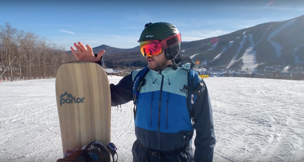 Parlor Snowboards Tubeshooter Review from ReddyYeti