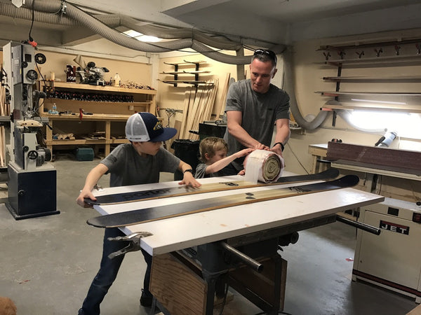 Build Your Own Skis: Meet Zeus