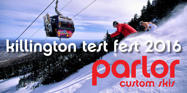 Killington Test Fest 2016