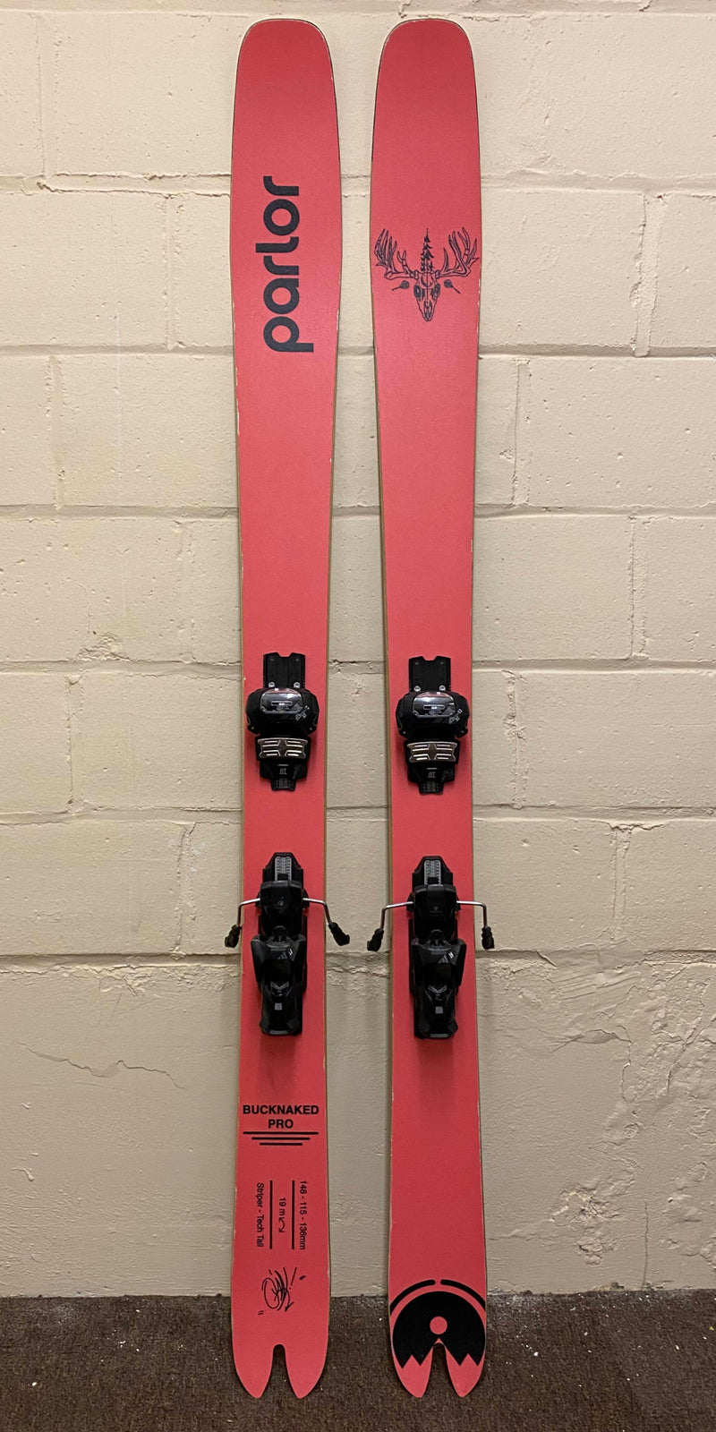 Buck Naked Demo Skis