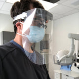 Face Shields for use with Dental Loupe