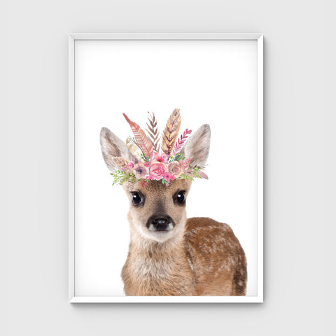//FLOWER CROWN DEER//