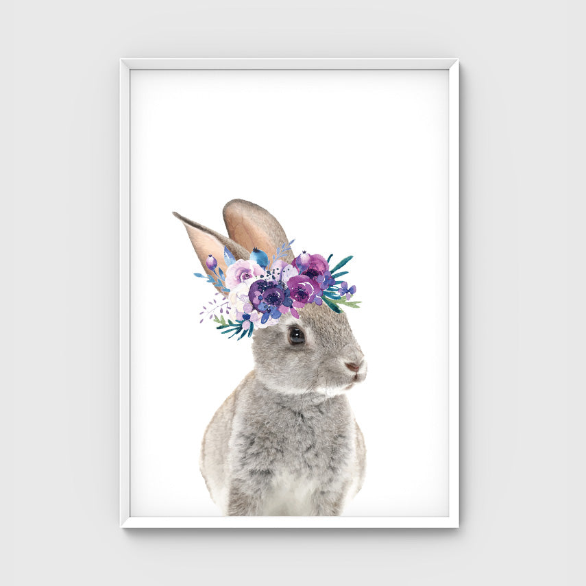 //FLOWER CROWN BUNNY//