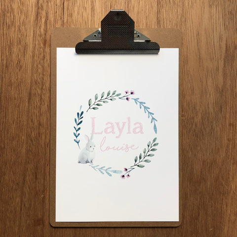"//CUSTOM GIRLS NAME - ""LAYLA"" SAMPLE//"