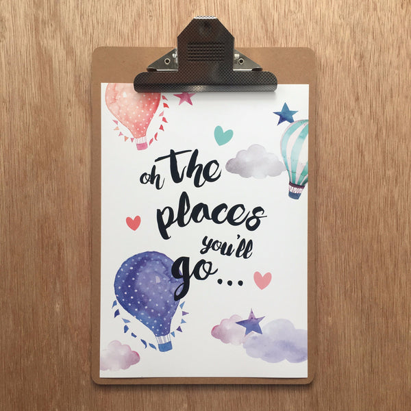 //OH THE PLACES YOU'LL GO-BLUE//