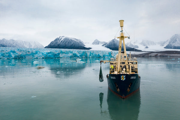 Collecting Ice From Svalbard - Iceberg Expedition 2020