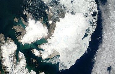 Winter ice declining in Svalbard's fjords