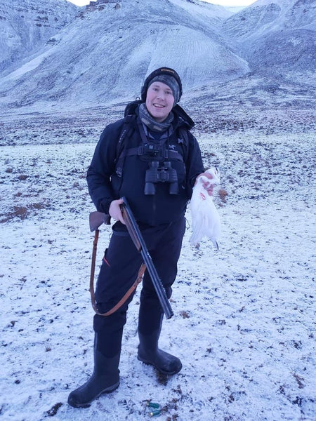 hunting food in svalbard