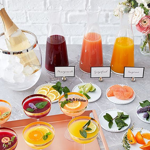 juice bar for luxury wedding