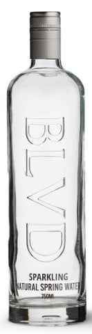 BLVD water 750ml glass bottle