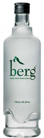 Berg water 750ml glass bottle
