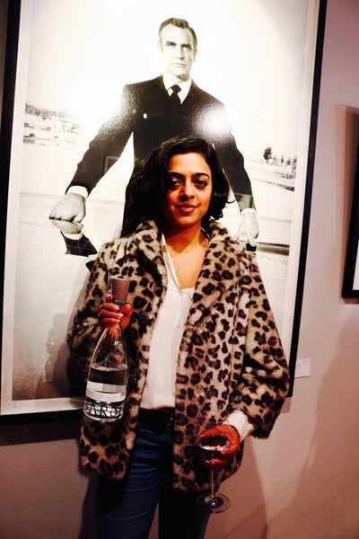 iceberg water at art exhibition event in london