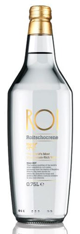 ROI water 500ml glass bottle