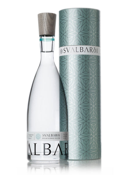 Svalbardi Polar Iceberg Water 750ml glass bottle with gift tube