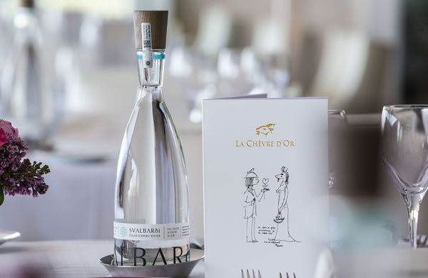 premium water for luxury weddings