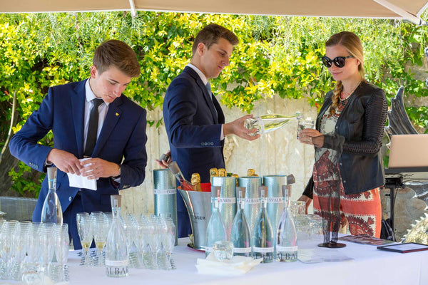 exclusive french event in nice with water