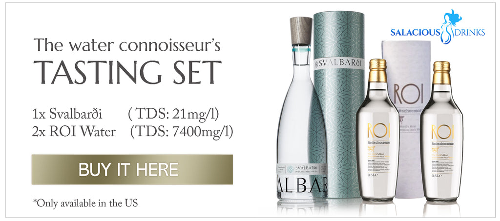 high and low tds water tasting set
