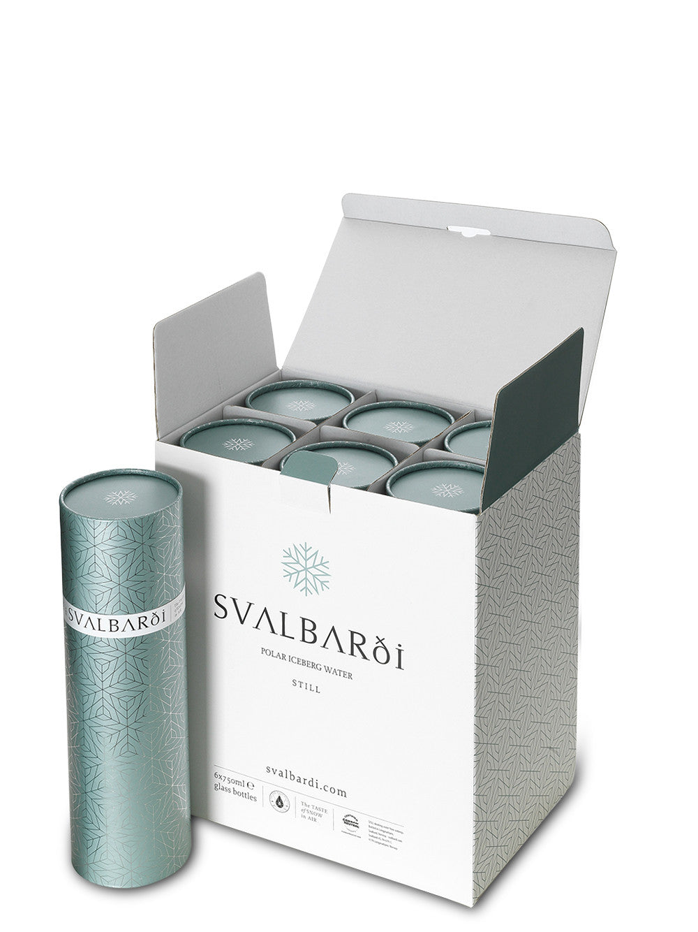 Case of 6 with Gift Tubes (€64.95/bottle) - Free Shipping - svalbardiiceberg