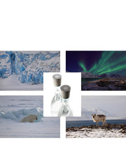 Holiday Two-pack with Svalbard nature print (€79,95/bottle)