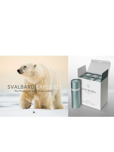Holiday case of 6 with Svalbard photobook