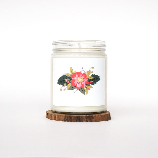 """All In Bloom"" Soy Candle"