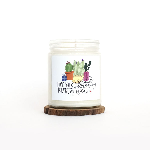 """Birthday Succa"" Soy Candle"