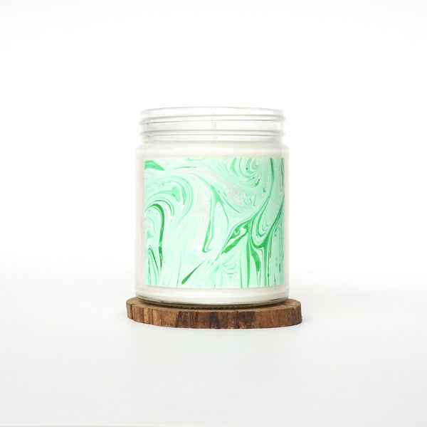 """Greenery"" Soy Candle"