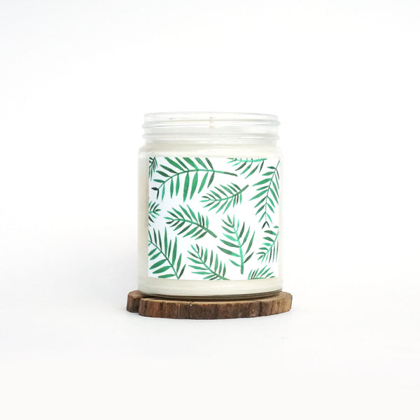 """Palm Breeze"" Soy Candle"