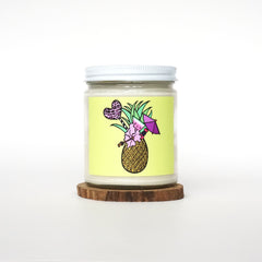 """Pineapple"" Soy Candle"