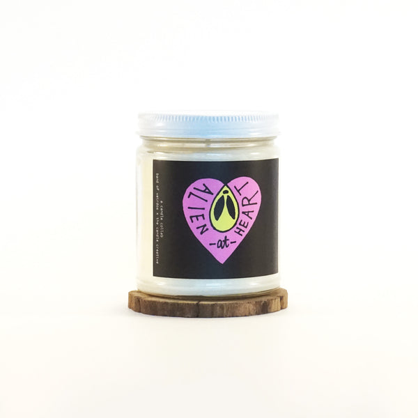 """Alien At Heart"" Soy Candle"