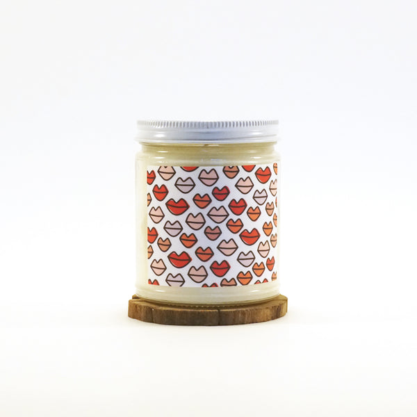 """Kisses"" Soy Candle"